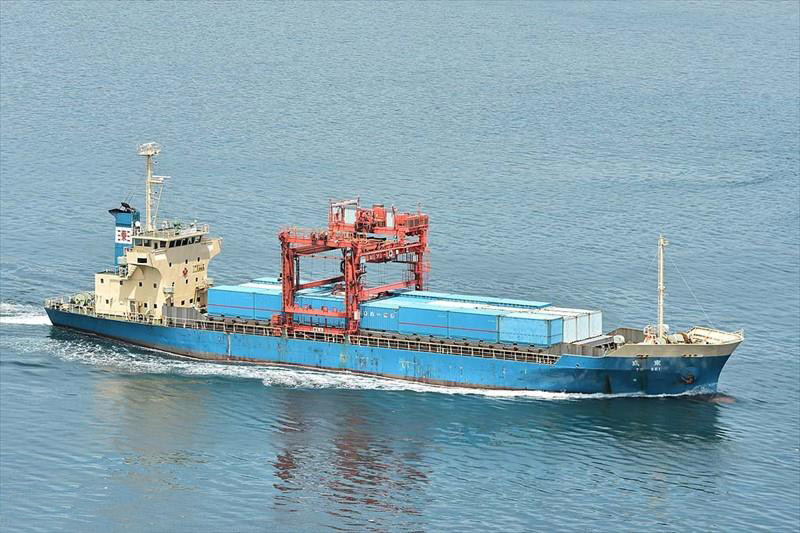 80TEU CONTAINER VESSEL FOR SALE/1991YEAR JAPAN BUILT