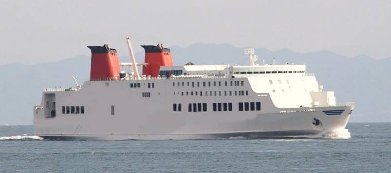 750PAX RORO PASSENGER FERRY BOAT FOR SALE/1994YEAR JAPAN