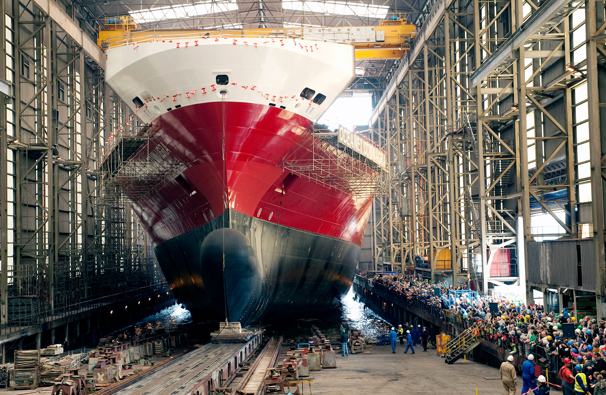 Shipbuilding, shiprepair services photo image