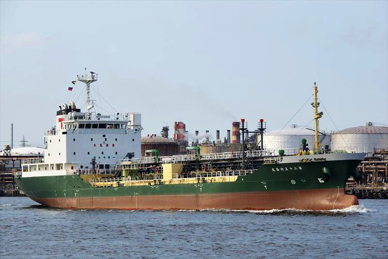 5,578DWT DRITY OIL TANKER FOR SALE / 2005YEAR JAPAN BUILT photo image