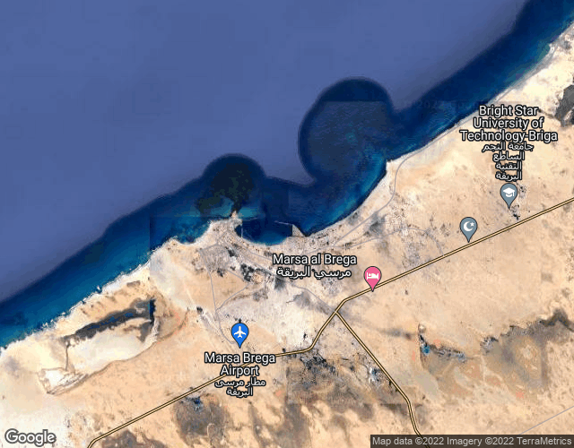 Port of Al Burayqah port photo map in Libya, Africa