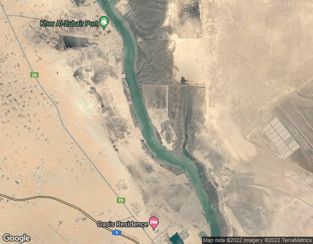 Port of Khor (Khawr) Al Zubair  port photo map in Iraq, Asia