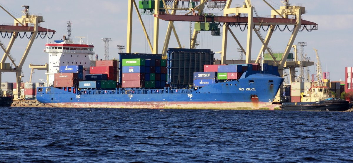 WES AMELIE vessel IMO:9504059