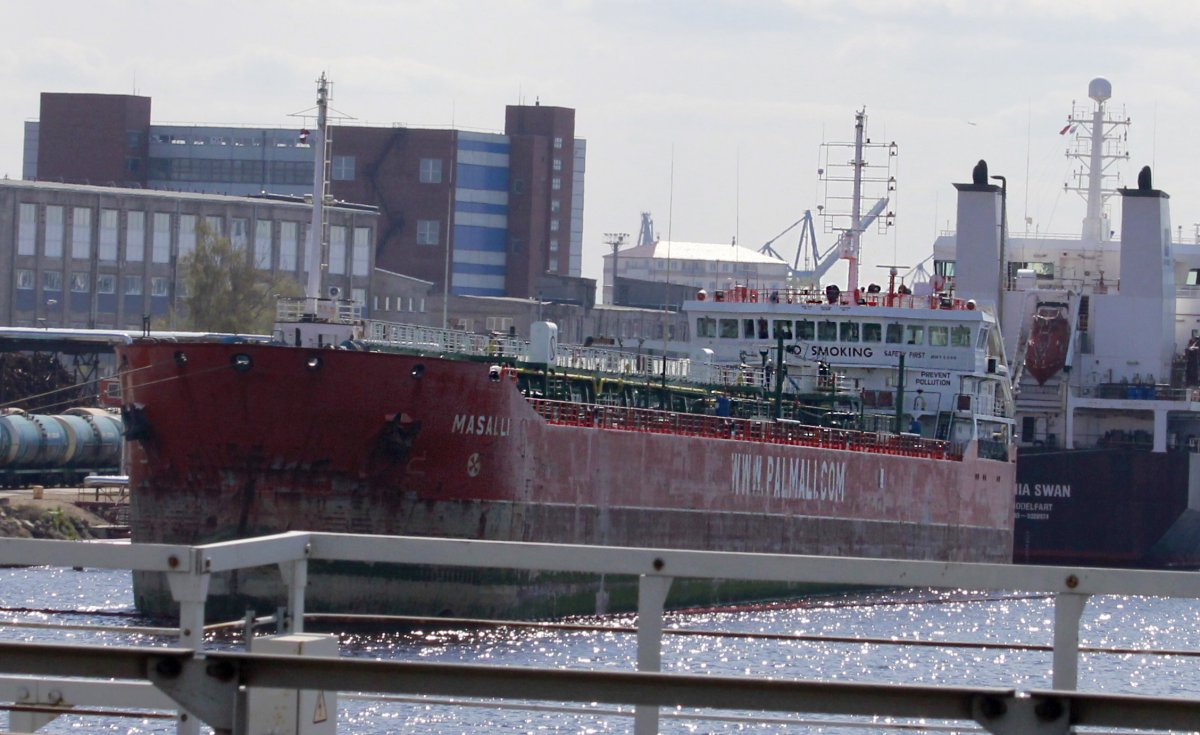 MASALLI Oil products tanker vessel IMO:9435313