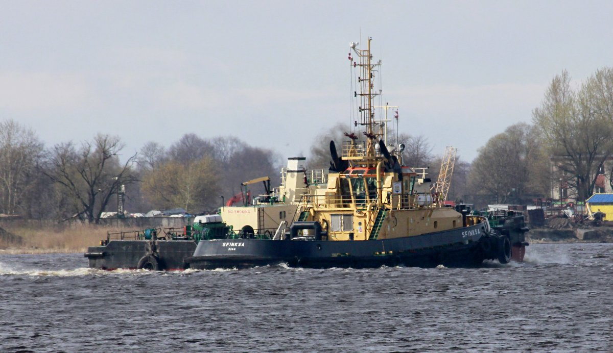 SFINKSA Firefighting Tug vessel IMO:9638513