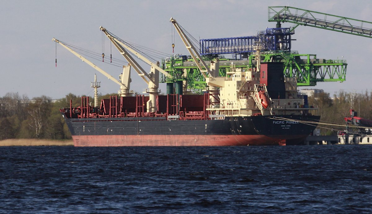 PACIFIC PIONEER General cargo vessel IMO:9739082