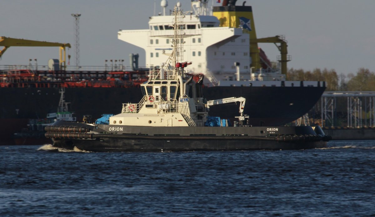 ORION Firefighting Tug vessel IMO:9679775