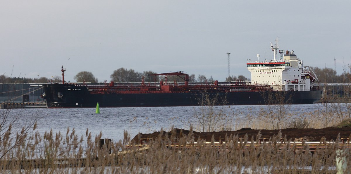 BALTIC FAITH Oil/chemical tanker vessel IMO:9327360