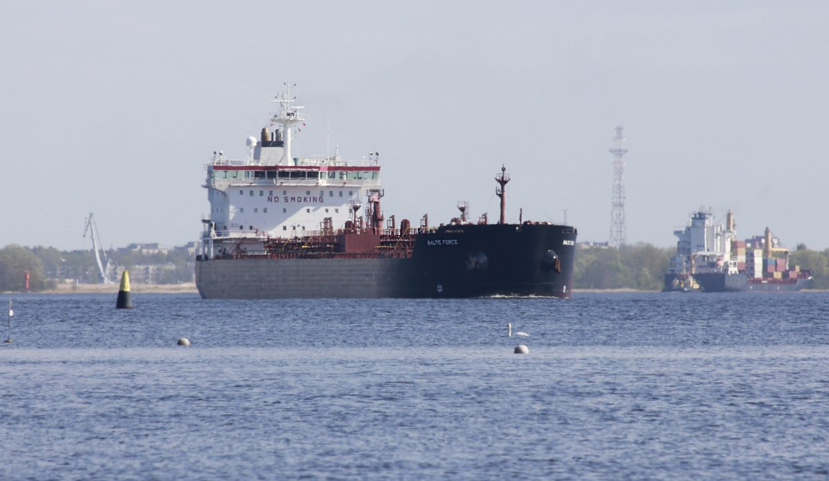 BALTIC FORCE Oil products tanker vessel IMO:9327384 photo image