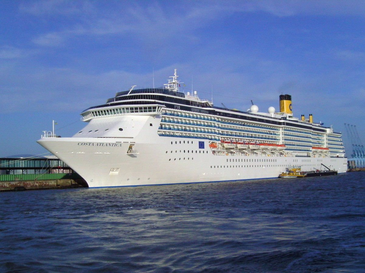 COSTA ATLANTICA vessel IMO:9187796
