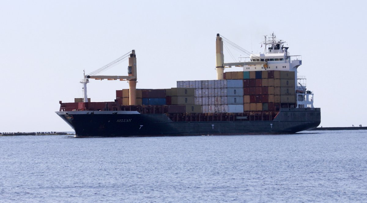 HELUAN Container ship vessel IMO:9358905