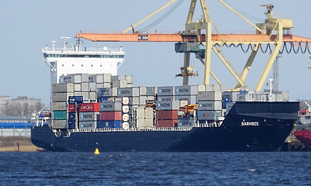 BARMBEK Container ship vessel IMO:9313228